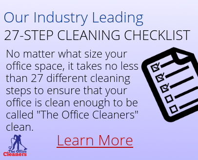 The Office Cleaners - Janitorial Service Checklist