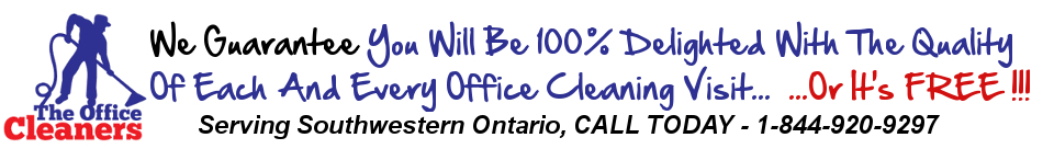 The Office Cleaners – Janitorial Service Brantford, ON