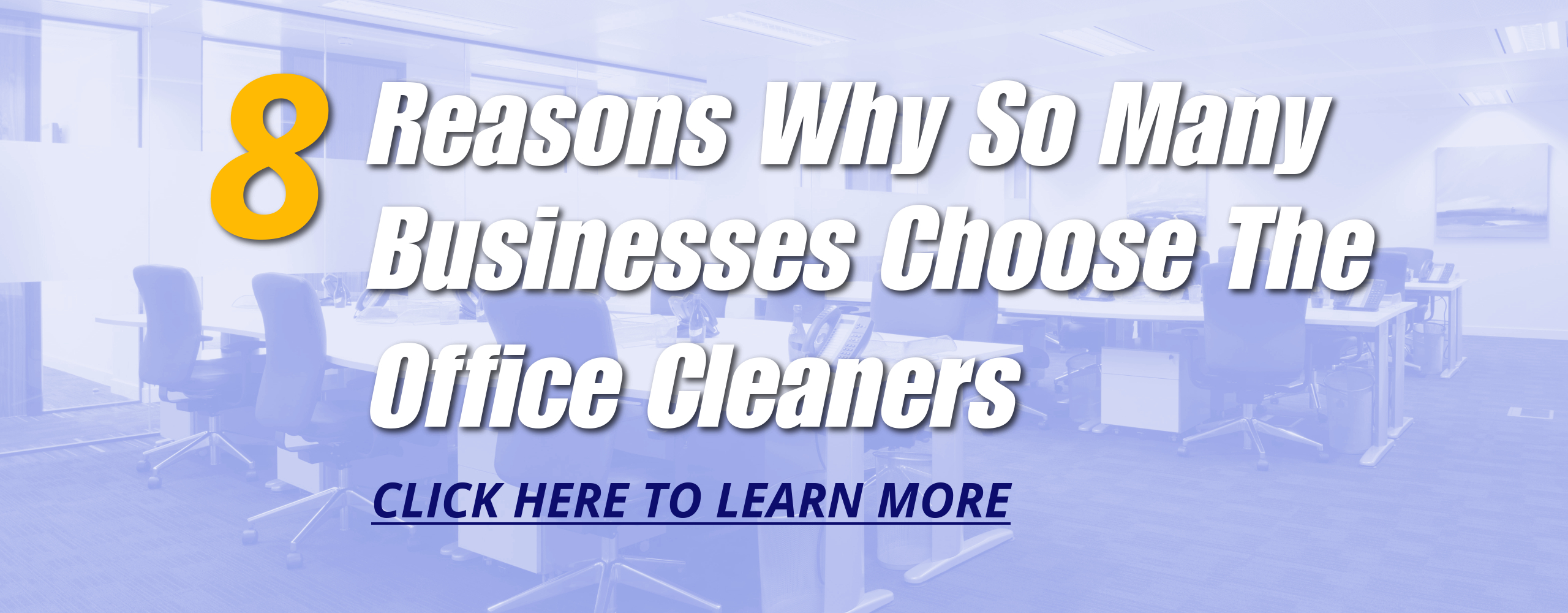 The Office Cleaners | Janitorial Service | Brantford - Why Choose Us