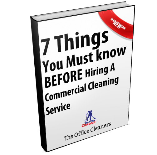Hiring a janitorial service or office cleaning service brantford book image